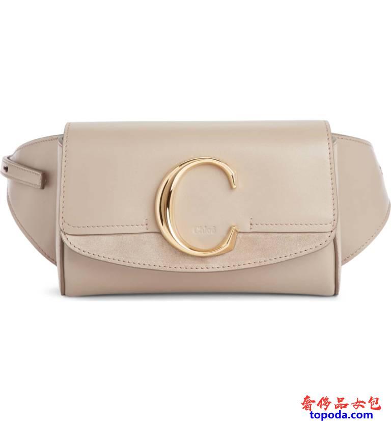 Nordstrom网站上的Chloe C腰包。
