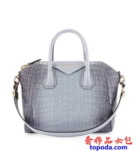 Givenchy Antigona小号鳄鱼皮包