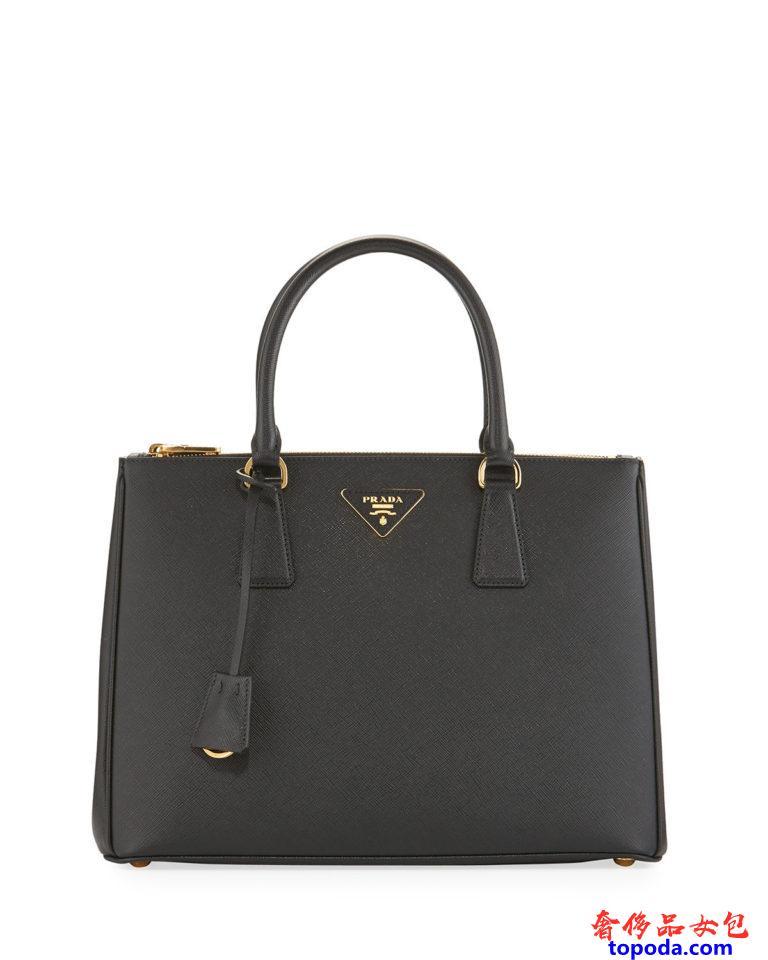 普拉达Prada Saffiano Lux手提袋