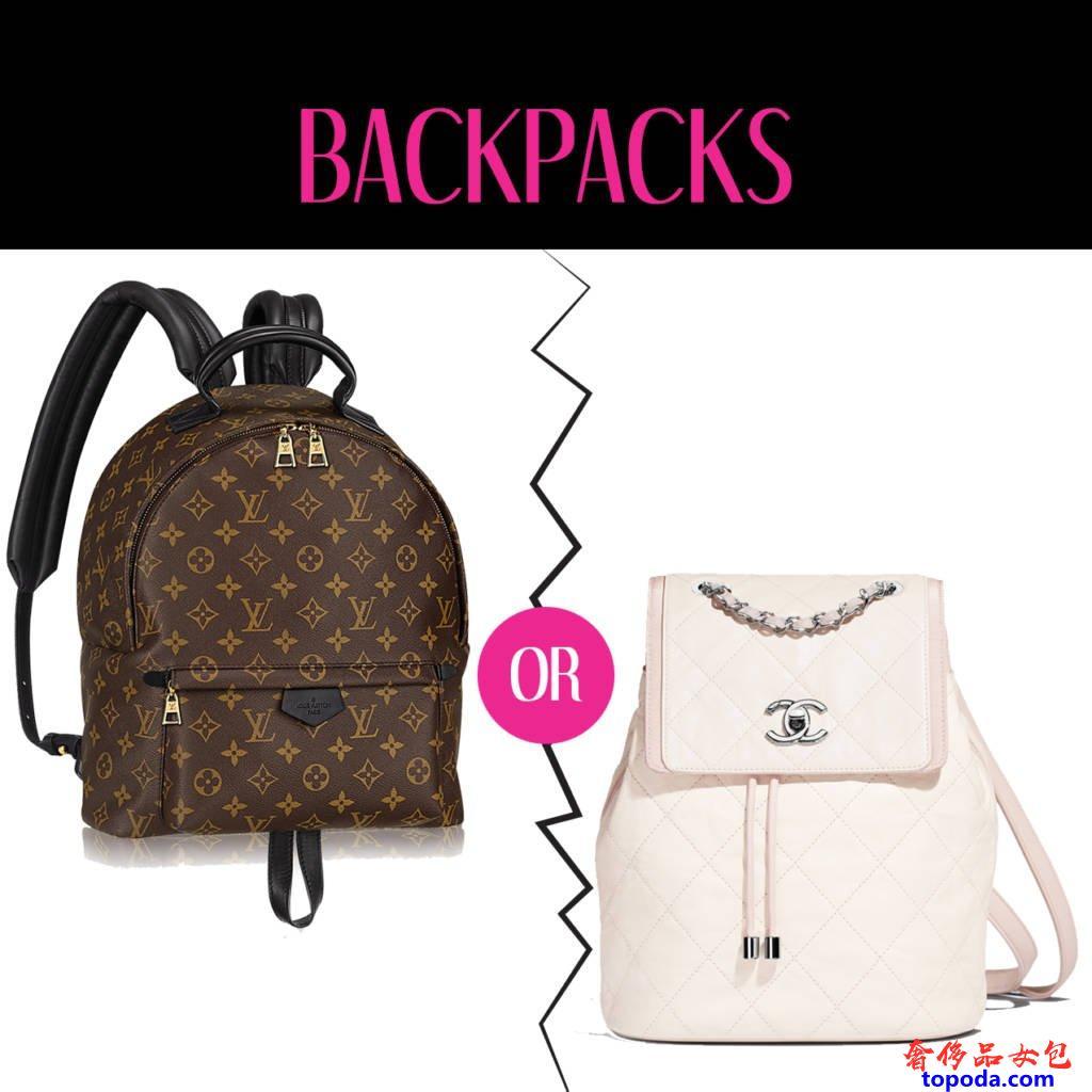 路易威登LV Palm Springs和Chanel背包