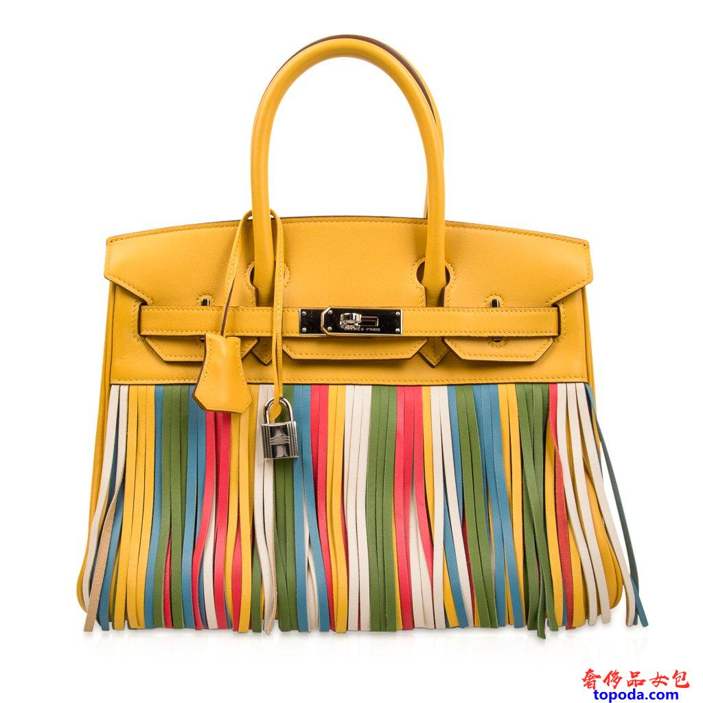 爱马仕(Hermes)Shadow Birkin 35包