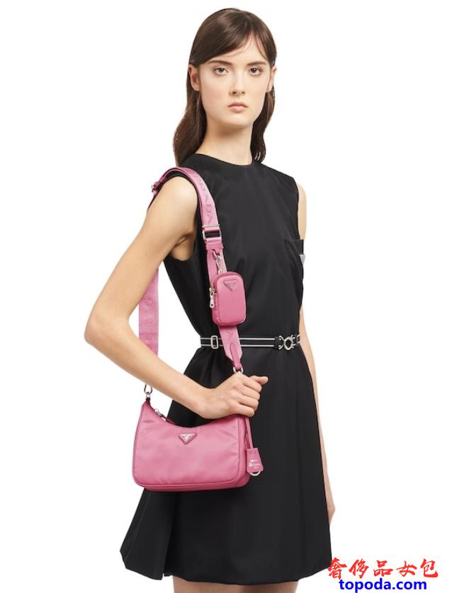 普拉达(Prada)的多袋包