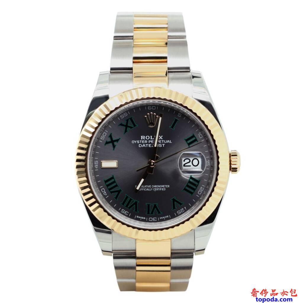 劳力士Datejust黑色手表