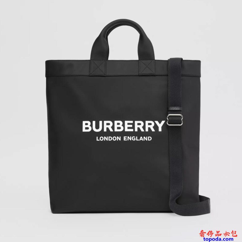 Burberry Logo PrintECONYL®手提袋