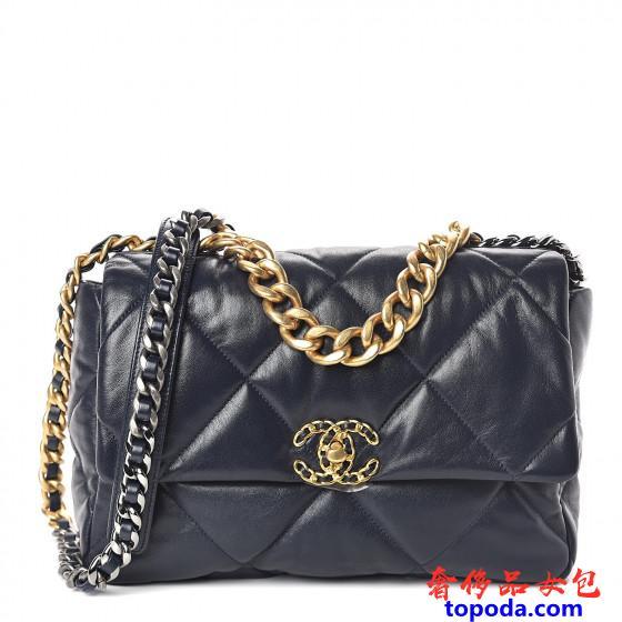 香奈儿(Chanel)19皮瓣袋