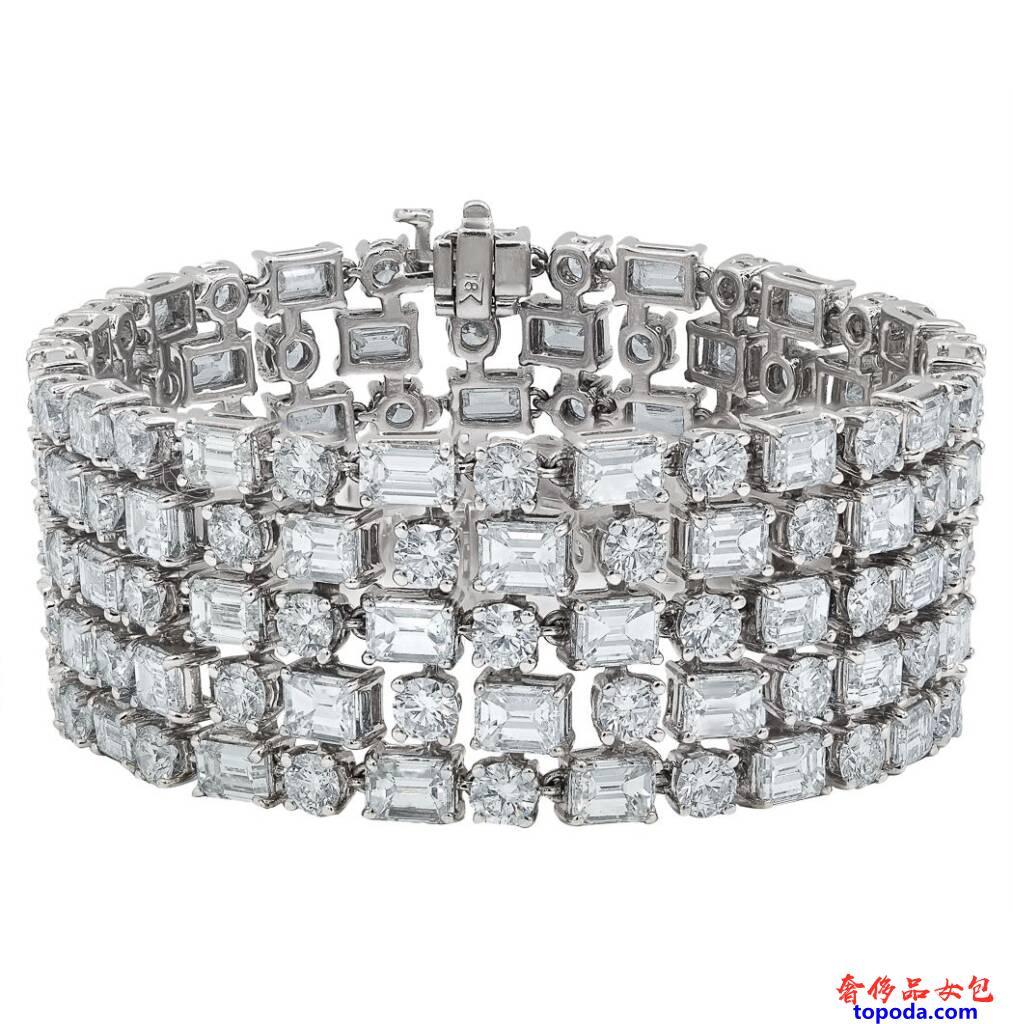 五行钻石手链