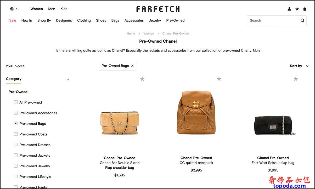 在farfetch购买香奈儿包包