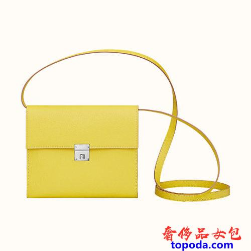 Lime Chevre Clic 16钱包