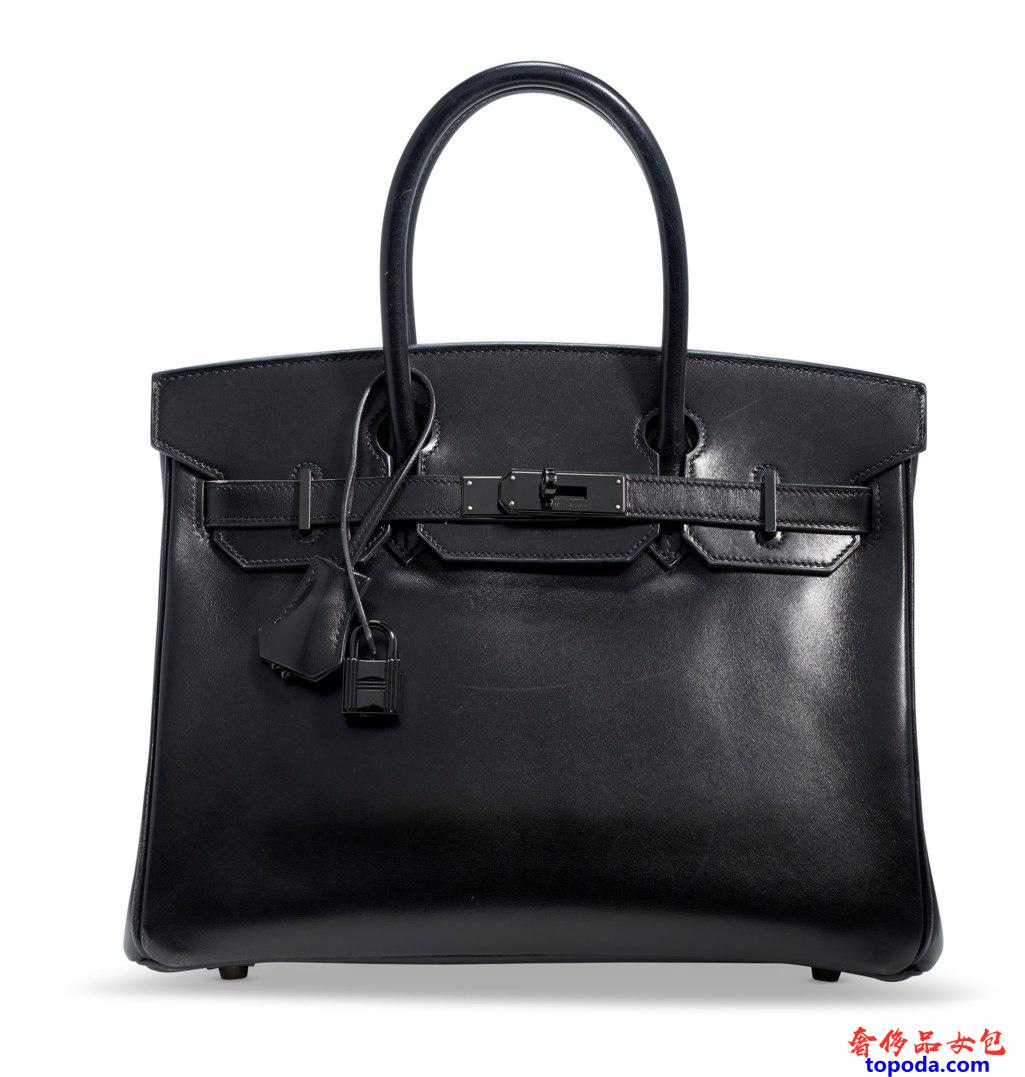 Black Birkin 30