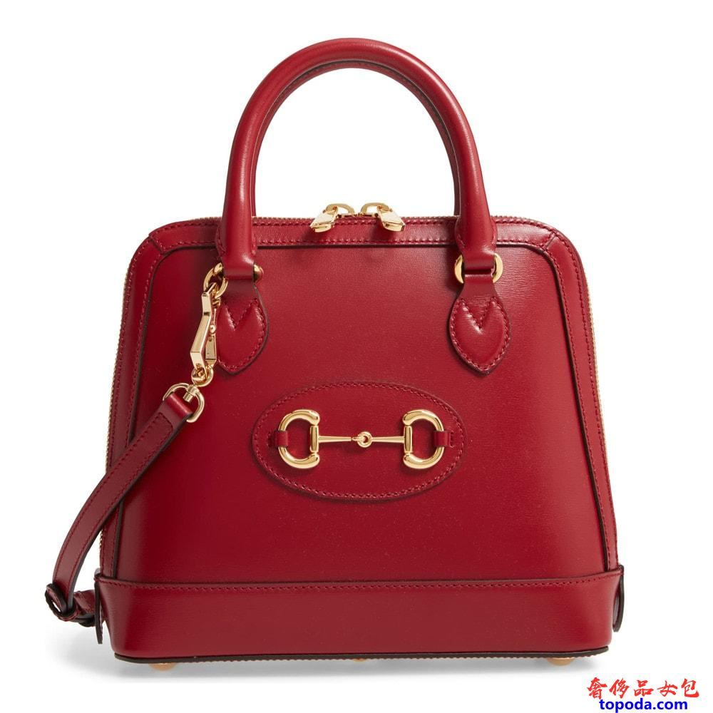 古驰Gucci 1955 Horsebit Satchel包包