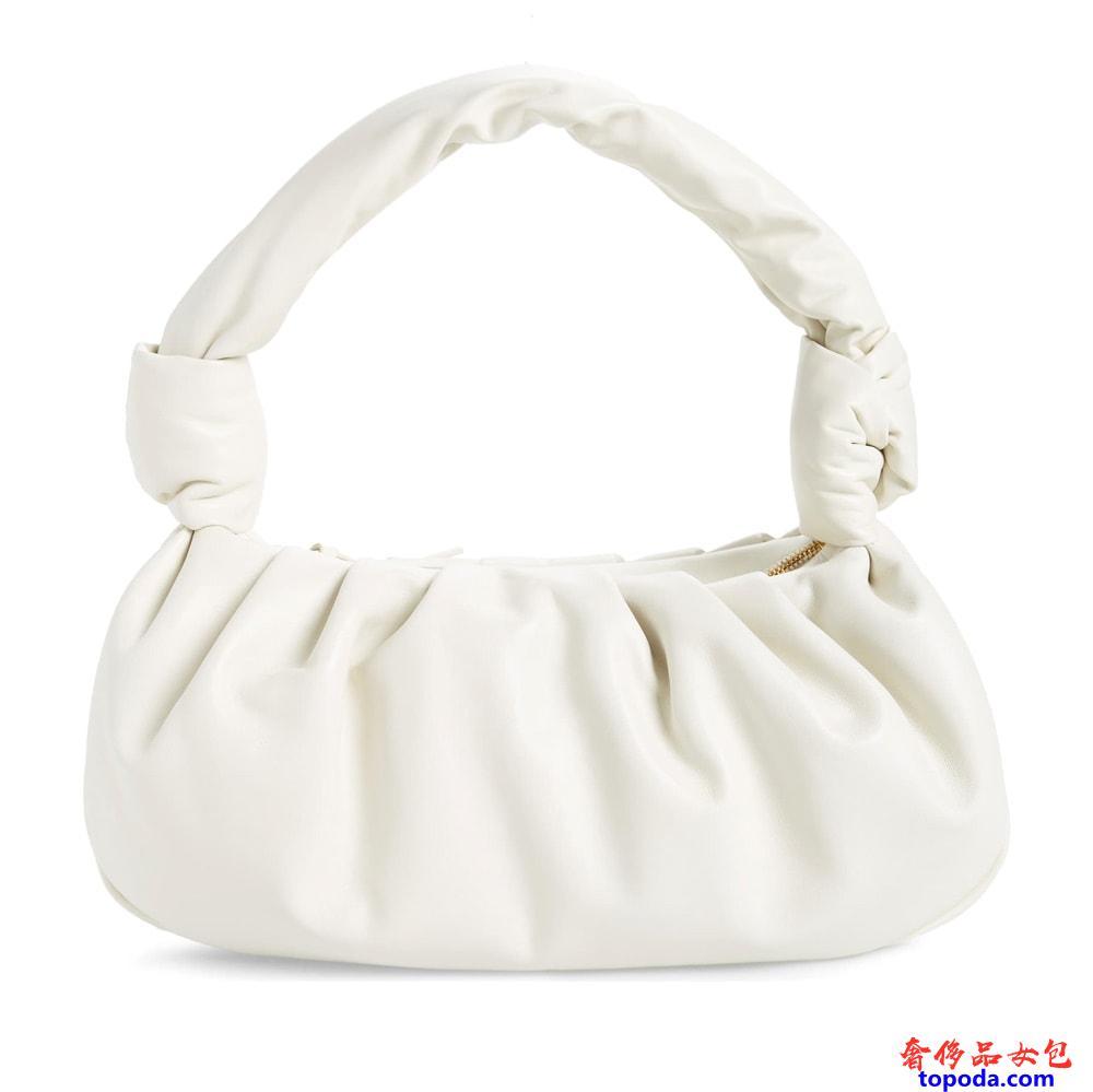 Miu Miu皮革肩背包
