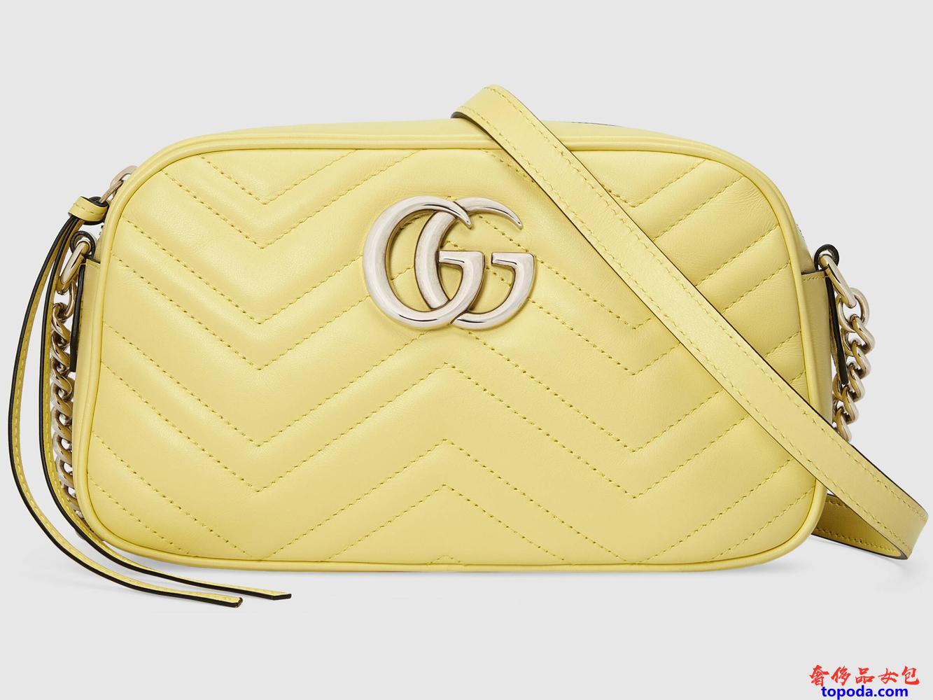 古驰Gucci GG Marmont小号女单肩包