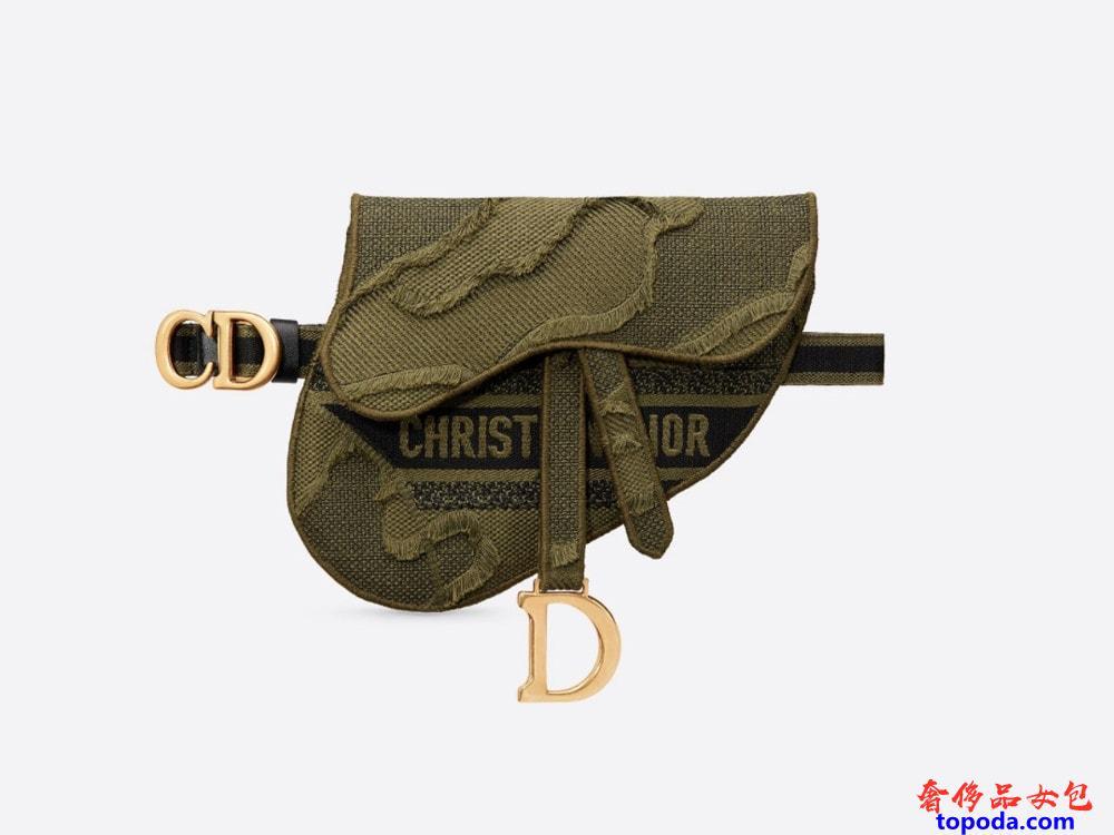 Dior鞍带袋