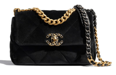 香奈儿Chanel 19丝绒翻盖包