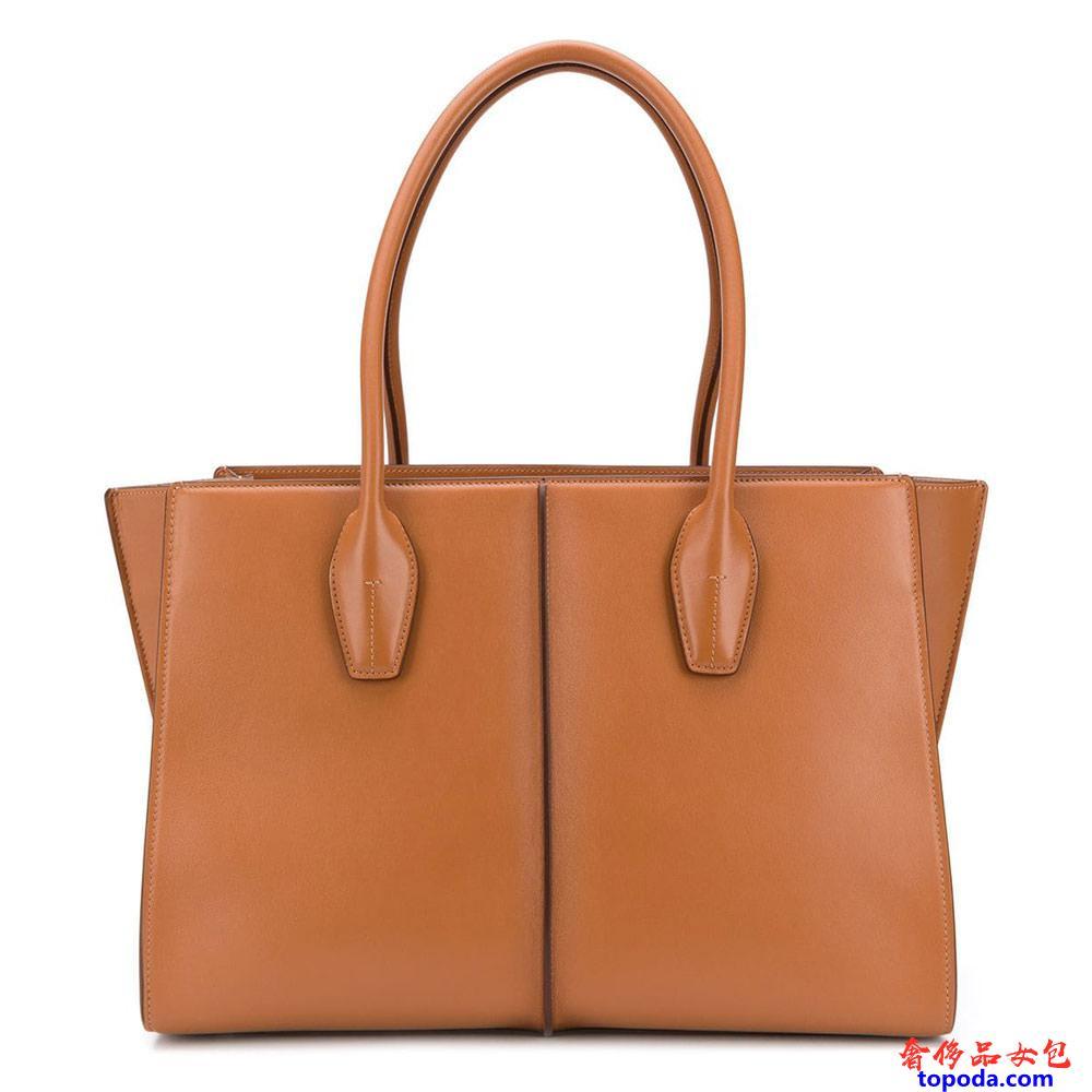 托德斯Tods的大号皮革购物袋
