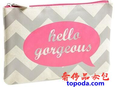 HELLO GORGEOUS扁平袋