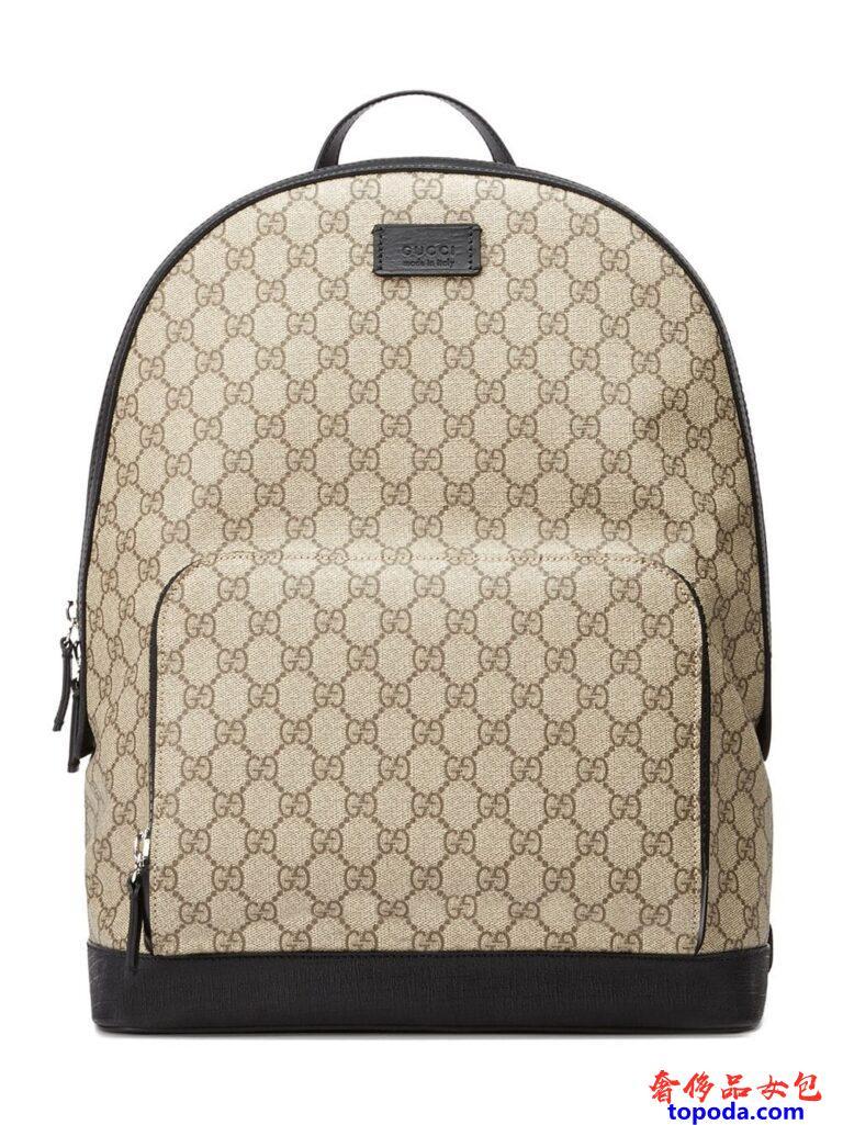 古驰Gucci GG Supreme双肩包